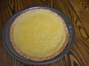 Buttermilk Pie for October 1st