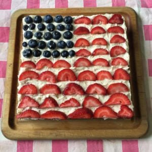 Easy Red, White, and Blueberry Cake for July 4th Fun!