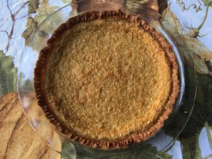Sweet Corn Custard Pie
