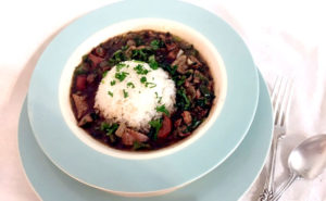 Turkey Bone Gumbo: