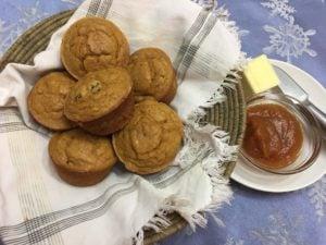 Pumpkin Muffins from Old Salem