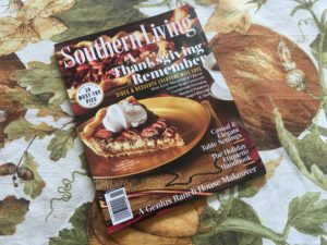 My Thanksgiving Pies in Southern Living Magazine
