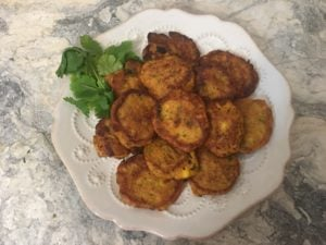 Red Curry Corn Cakes