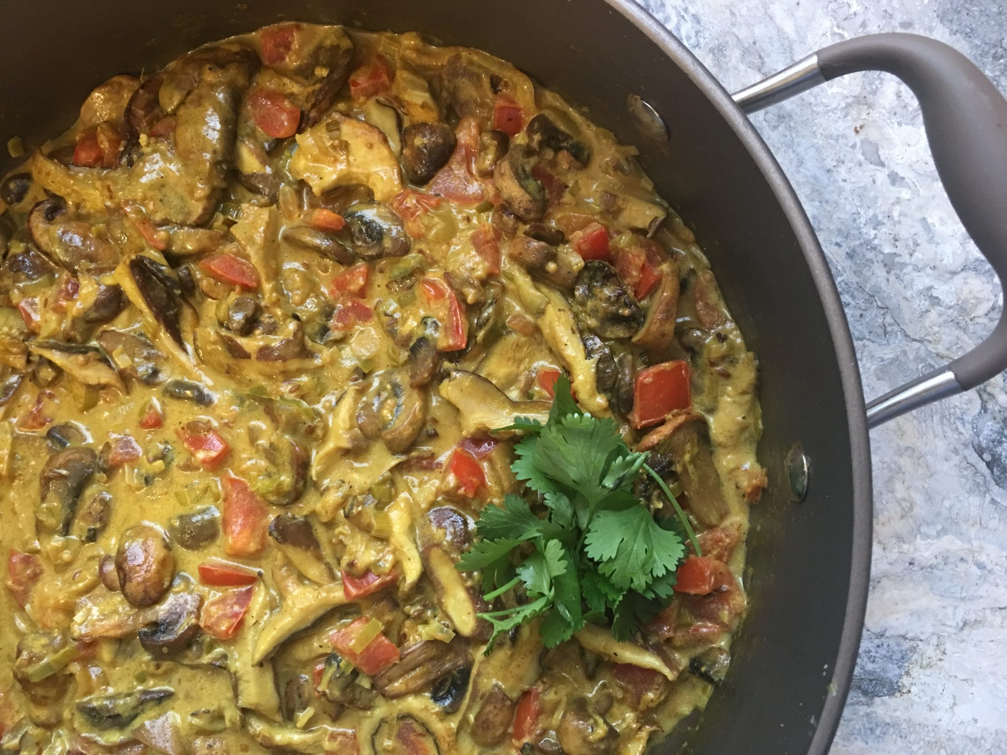 Amazing mushroom curry vegan gf oven baked and delicious this extraordinary dish caught my eye on a blog i love cook republic written by sneh roy who lives near sydney australia and writes about vegan and forumfinder Images