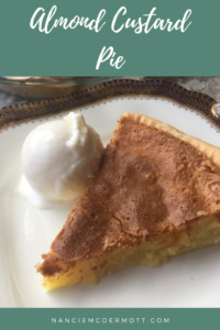 Almond Custard Pie