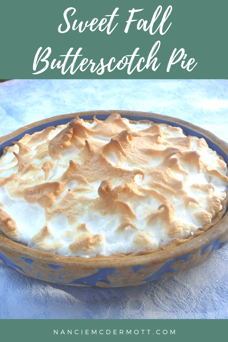 Sweet Fall Butterscotch Pie
