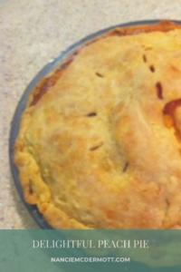 Delightful Peach Pie