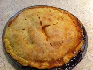 Nancie's Fresh Peach Pie