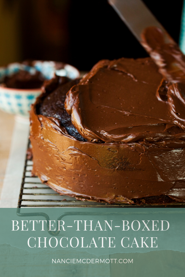 Better Than Boxed Chocolate Cake