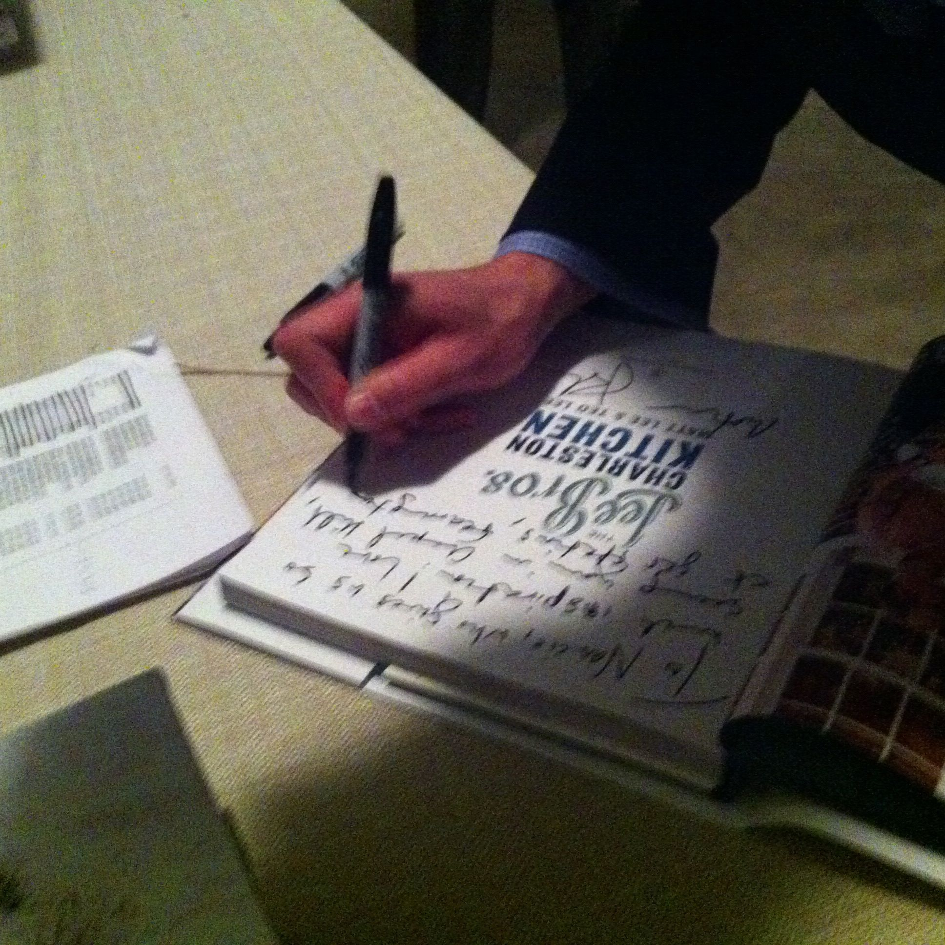 sign my book