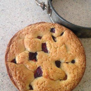 Summer Torte (Plum or Raspberry/Blueberry)