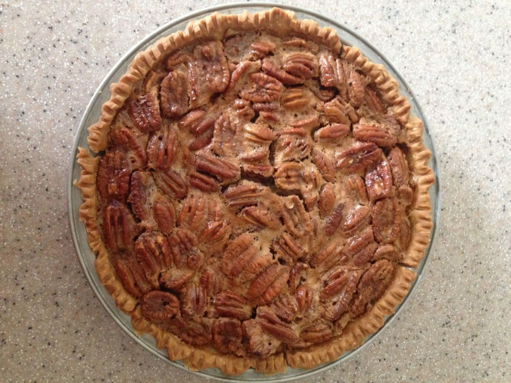 Ronni Lundy's Sorghum Pecan Pie