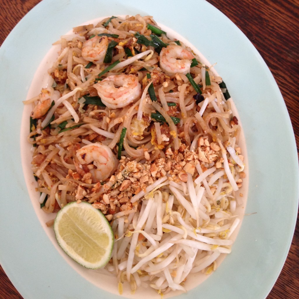 Nong's Pad Thai, with which she triumphed over Bobby Flay in her famous performance on Throw-Down with Bobby Flay a few years back.