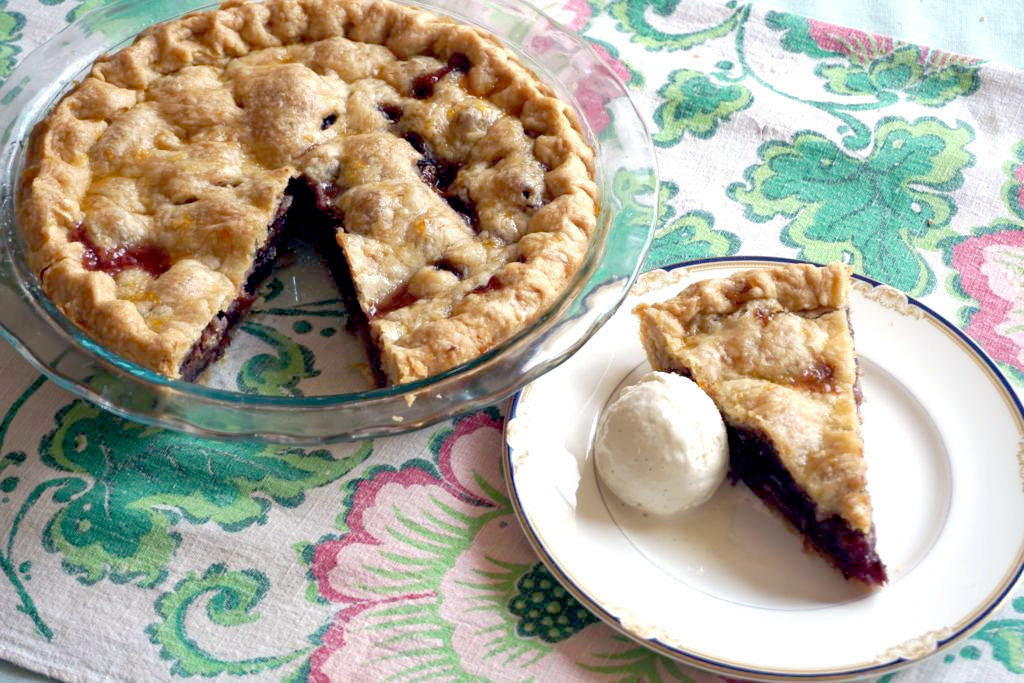 Fresh Fig Pie: Bye-Bye, Summer, and Welcome, Fall