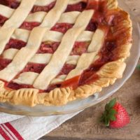 Nancie's Strawberry-Rhubarb Pie