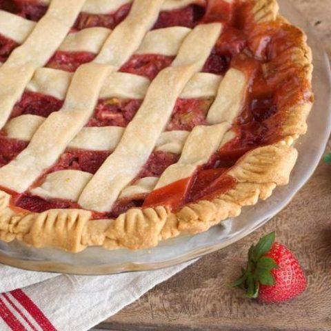 Nancie's Strawberry-Rhubarb Pie