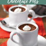 Chile-Spiked Chocolate Pots
