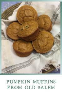 Pumpkin Muffins on towel