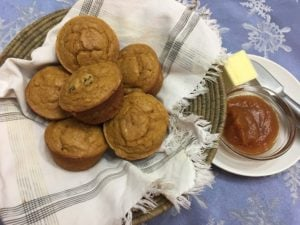 Pumpkin Muffins from Old Salem