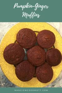 Pumpkin-Ginger Muffins