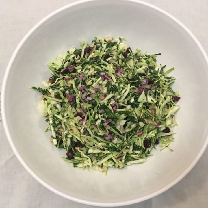 Gratitude Slaw for Holidays and Everyday