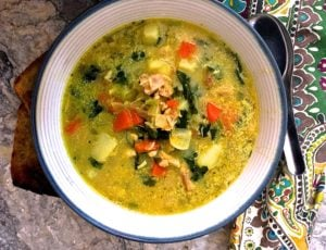Deliciously Simple Chicken Soup