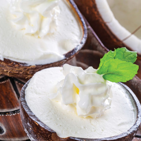 Thai Coconut Ice Cream with Caramelized Pineapple: A Sweet Vegan Treat!