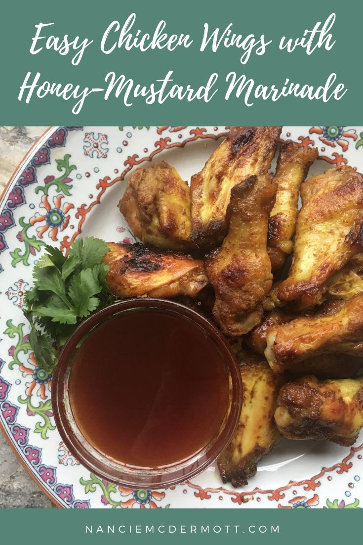 Easy Chicken Wings with Honey-Mustard Marinade