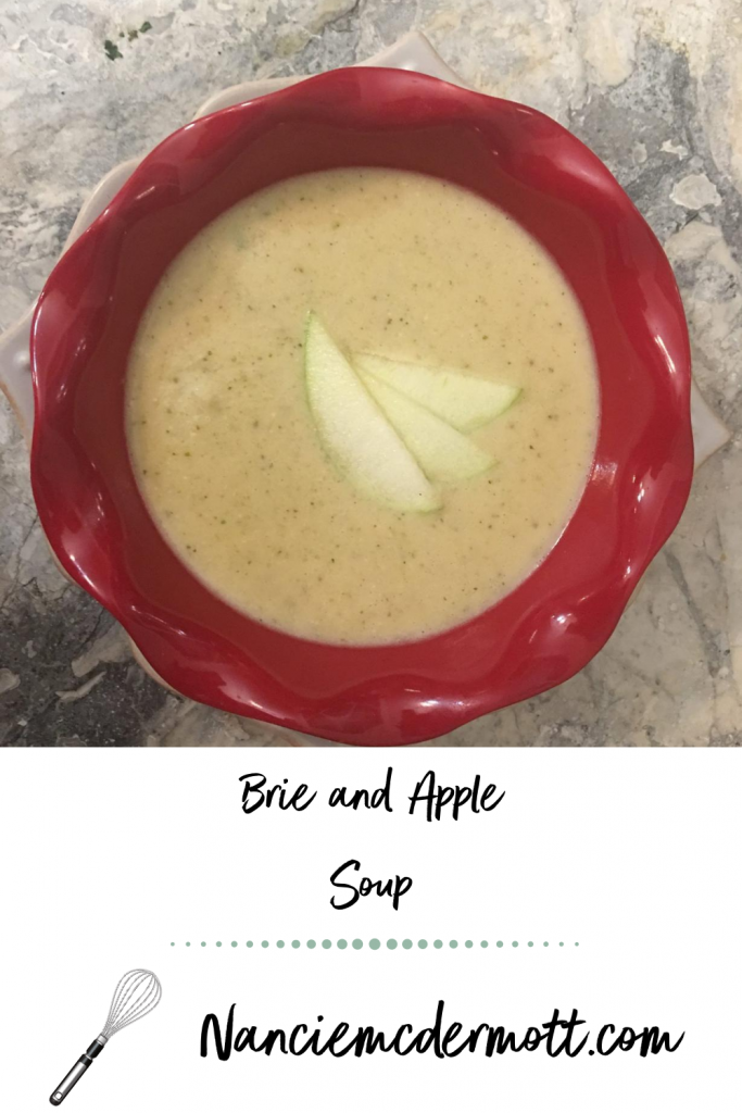 Brie and Apple Soup